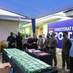 Direktorat Resnarkoba Polda Riau Amankan 81 Kilogram Sabu Jaringan Internasional