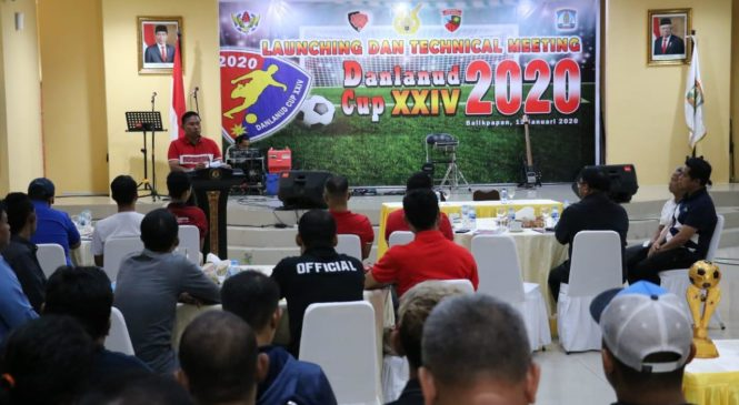 Launching & Technical Meeting Danlanud Cup XXIV 2020 di Rumah Jabatan Walikota