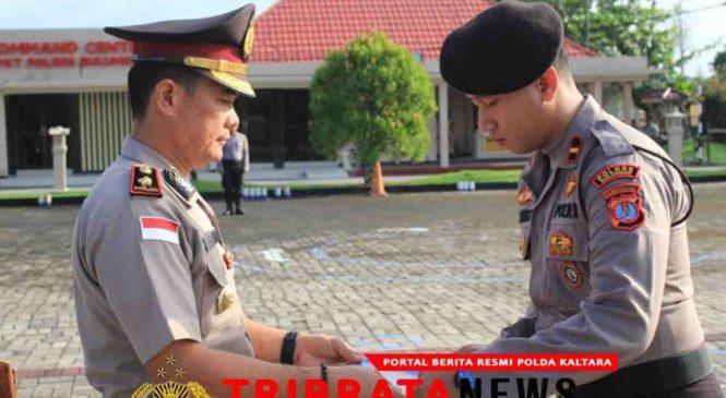 Polda Kaltara Beri Penghargaan Kepada 24 Personil BKO Polda Metro Jaya