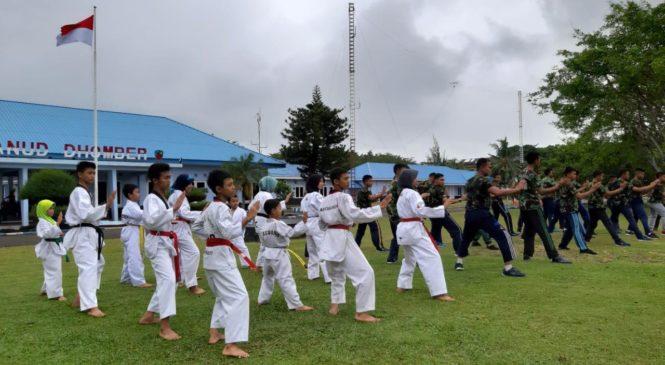 Lanud Dhomber Balikpapan Dirikan Dojang Taekwondo