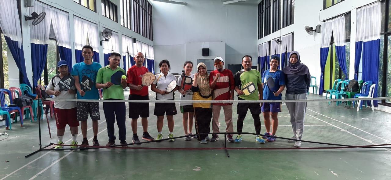 SMA Negeri 5 Balikpapan Mendukung Olah Raga Picklebal Di Balikpapan