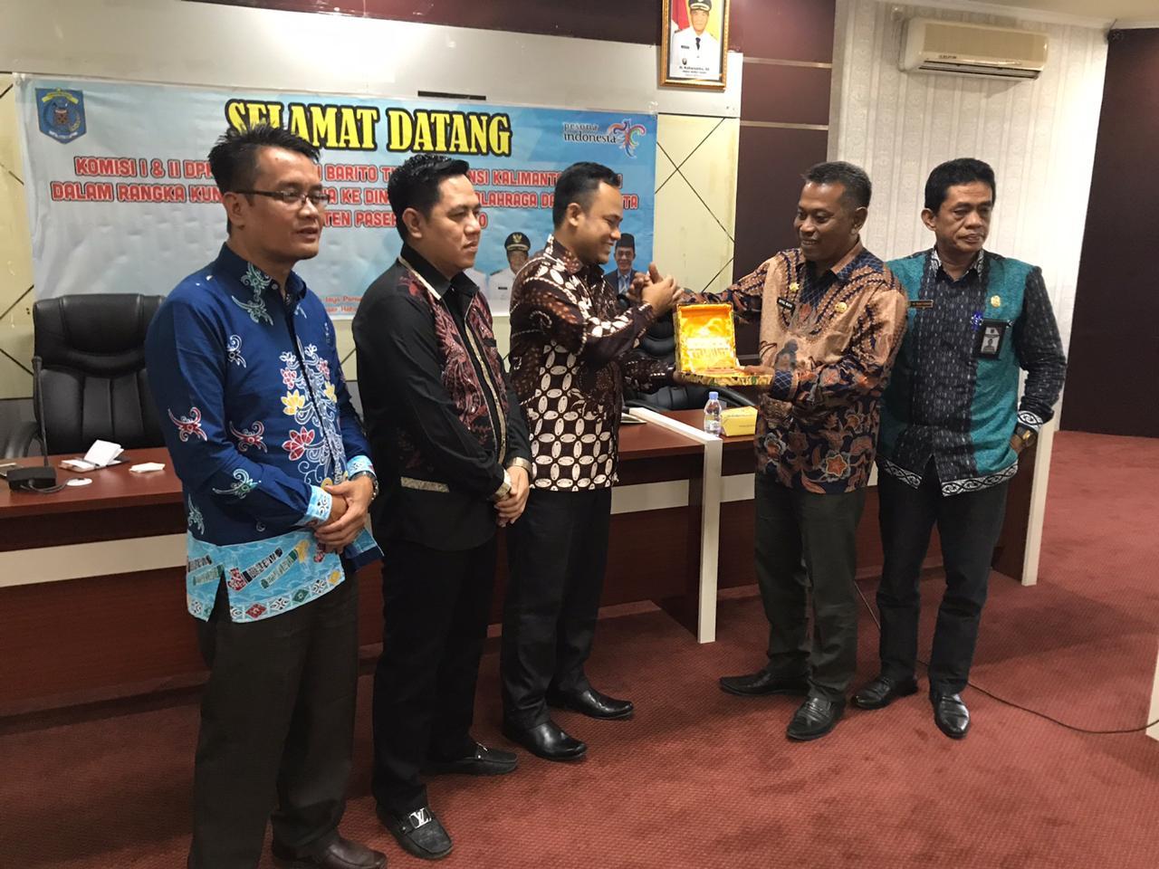Ketua DPR Barito Timur Studi Banding Kepariwisataan di Kabupaten Paser