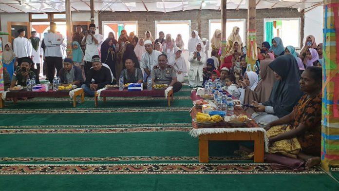 Umat Muslim Pemda,TNI/Polri dan Masyarakat di KabupatenTolikara Papua Peringati Isra Mi'raj