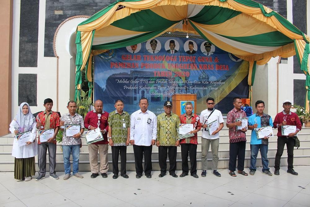 Alat Jemur Efek Rumah Kaca & Bio JPT Plus Juara TTG Se Kabupaten Paser