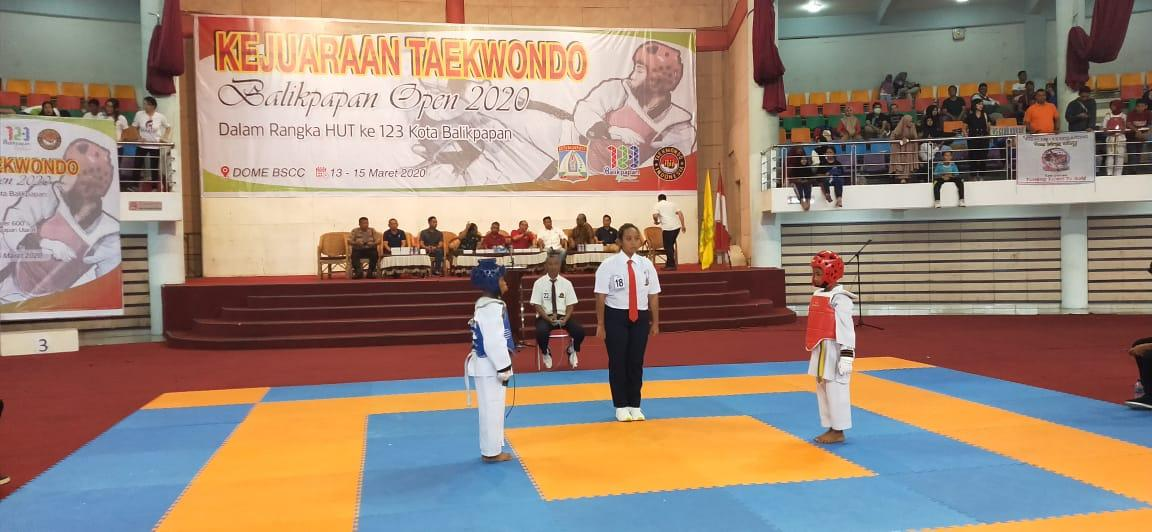 Kejuaraan Kota Taekwondo Indonesia Antar Ranting/Club Se Balikpapan Tahun 2020 Dalam Rangka HUT Kota Balikpapan 123 Tahun