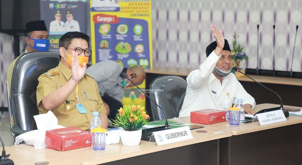 """Gubernur Kaltara Dr. H. Irianto Lambrie, """" Zakat Harta dan Profesi Dikumpul Sepekan Sebelum Ramadan """""""