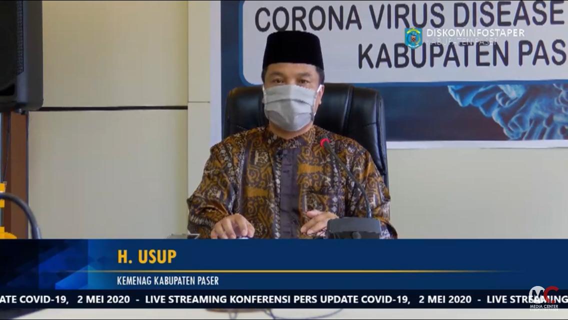 Kemenag Kabupaten Paser Pantau Aktifitas di Rumah Ibadah, Jamaah Taat Aturan