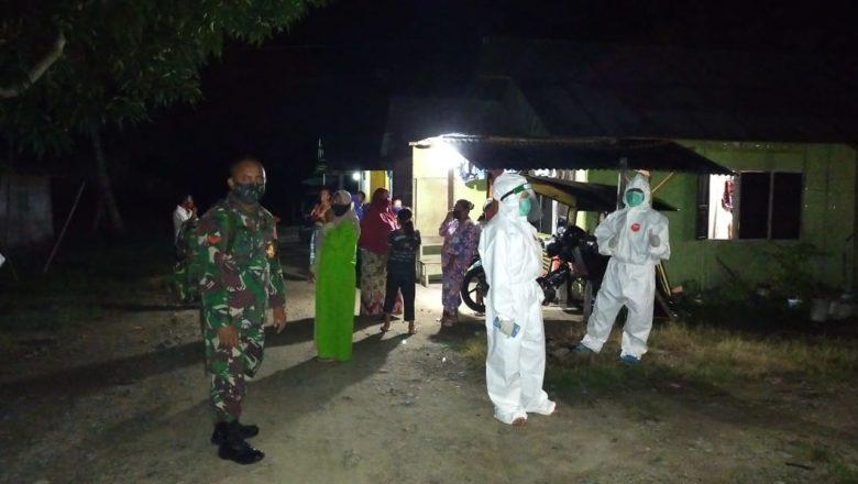 5 orang Dalam 1 Keluarga di Desa Moahudu Kec. Tabongo Jalani Swab-Tes Akibat Kontak Erat Dengan Pasien 55 Asal Batuda'a