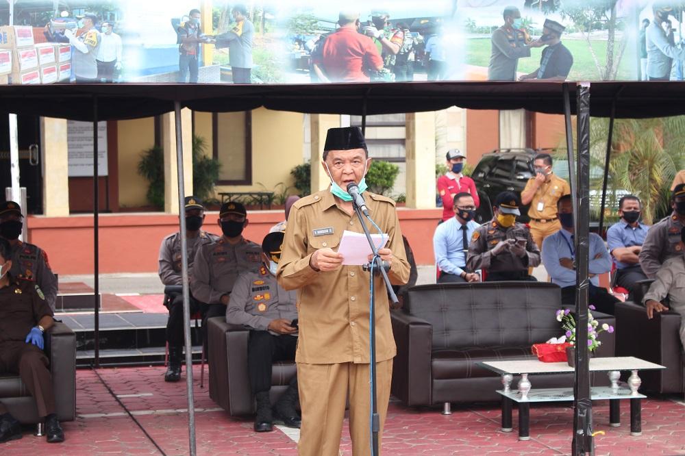 Wakil Ketua II Gugus Tugas Covid-19 Kabupaten Paser Himbau Masyarakat Jujur Kalau Berobat Pada Faskes