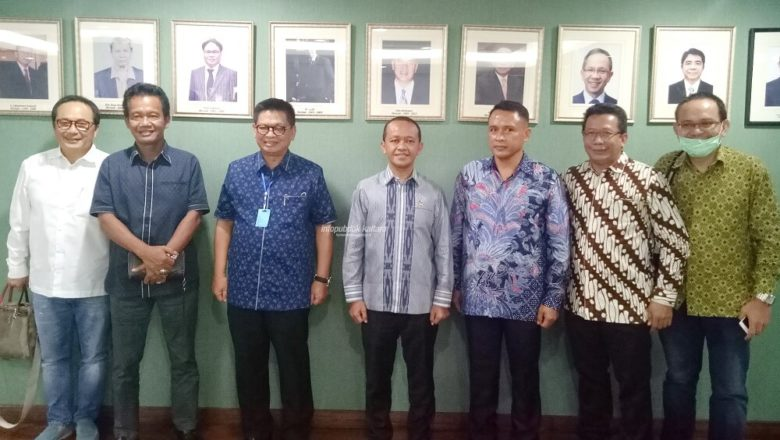 Jumpa Kepala BKPM RI, Gubernur Irianto Minta Dukungan Percepatan Investasi di Kaltara