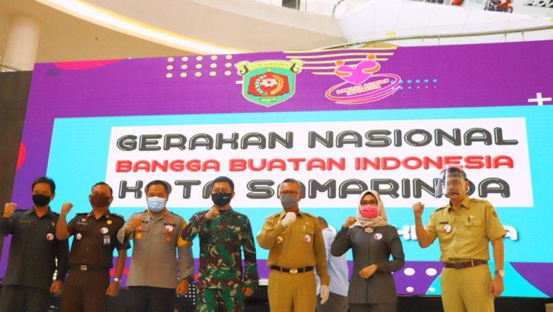 Kapolresta Samarinda Hadiri Launching Gerakan Nasional Bangga & Cinta Buatan Indonesia