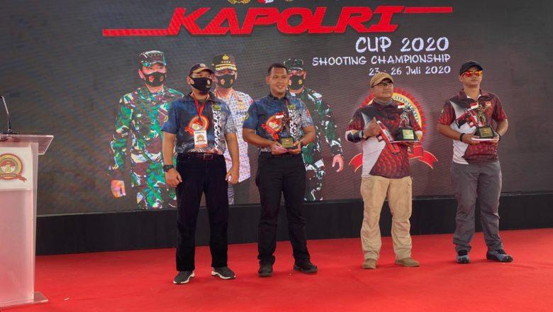 Kontingen Polda Kaltim Mengukir Prestasi di Kejuaraan Menembak Kapolri Cup 2020