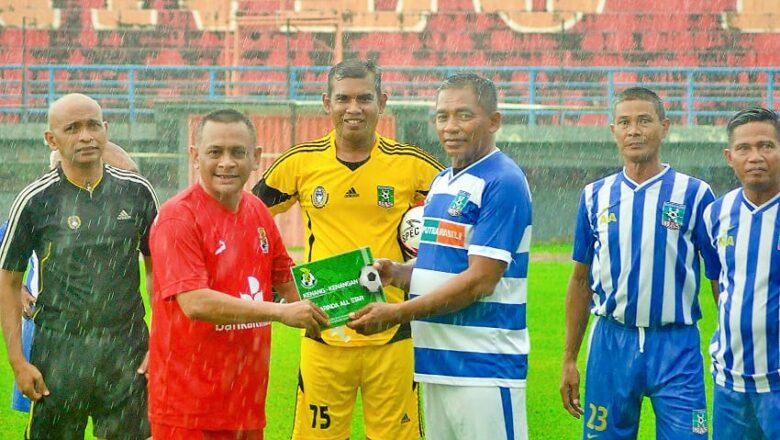 Ajang Reuni dan Silaturhmi Para Legenda Sepak Bola di Tanah Borneo
