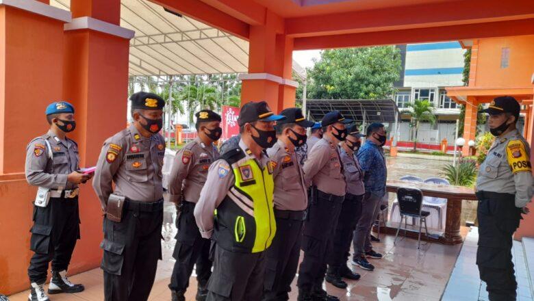 Polres Kukar Kerahkan Puluhan Personil, Pengamanan Perpanjangan Seleksi Calon Bupati & Wakil Bupati