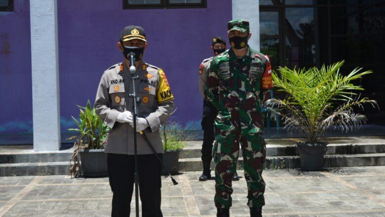 Kapolres Paser Turun Langsung Pada Pengamanan Rapat Pleno Terbuka Penetapan Nomor Urut Cabup & Cawabub