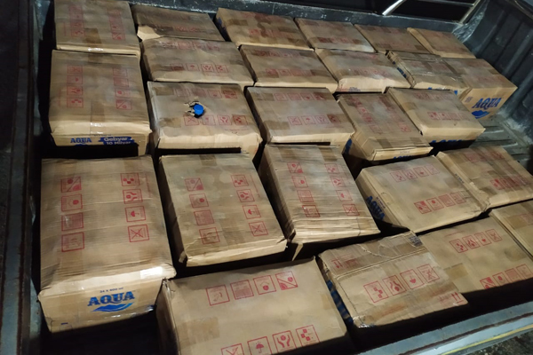 Satresnarkoba Polres Kepulauan Talaud Gagalkan Penjualan Ratusan Liter Cap Tikus