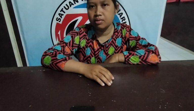 SIMPAN SABU DI KAMAR MANDI, MA (36) IBU RUMAH TANGGA DICIDUK POLRES KOBAR