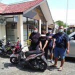 Tim Rajawali Polres Bontang Berhasil Amankan AR (24) Pelaku Curanmor Beserta Barang Bukti