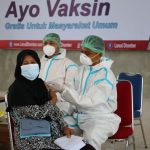 Serbuan Vaksinasi Sinovac Dosis Kedua untuk Keluarga Besar Lanud Dhomber Dan Masyarakat Kota Balikpapan