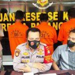 Polresta Palangka Raya Press Release Tindak Pidana Karhutla di Kawasan Trans Kalimantan Km. 23,4